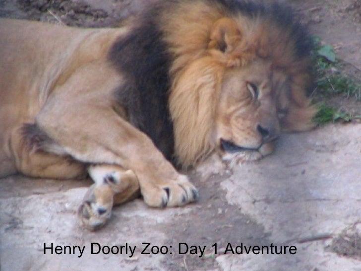 Henry Doorly Zoo: Day 1 Adventure
