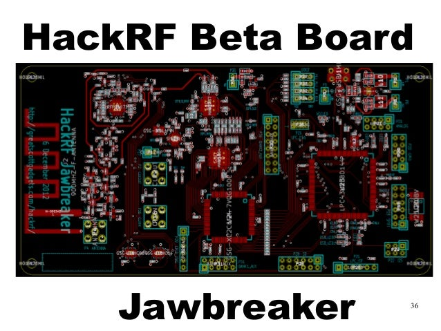 HES2014] HackRF A Low Cost Software Defined Radio Platform by Benjam…
