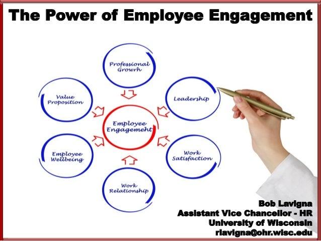 The Power Of Employee Engagement Robert Lavigna