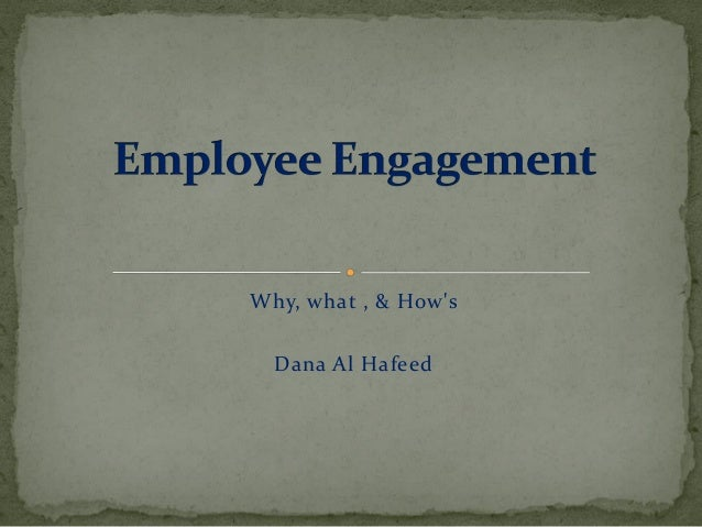 Why, what , & How's Dana Al Hafeed