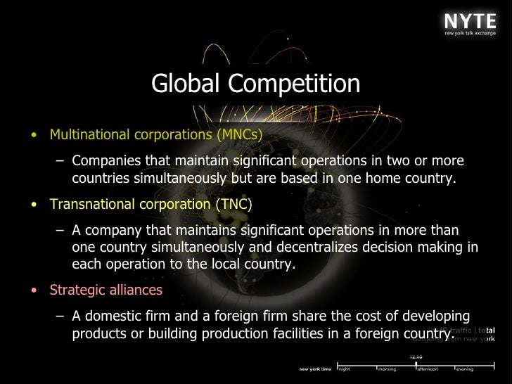 multinational corporations maintain significant operations in two or more countries simultaneously But it was that multinational corporations (mncs  corporations are those that maintain significant operations in two or more countries simultaneously but.