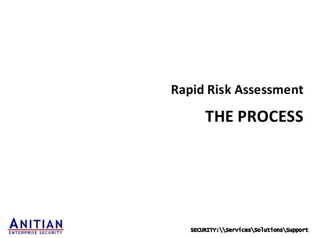 balanced approach to risk assessment −references to risk assessment & risk management • balanced approach 11 qc and risk management author.