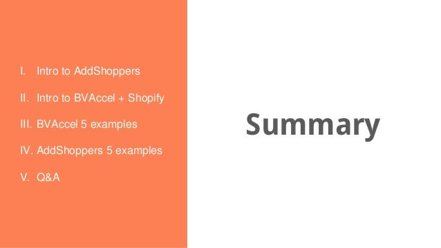 Day 2  BVAccel + add-shoppers Slide 3