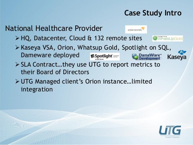 united healthcare organization case study Any organization—insurance company, hospital corporation, or medical group, for example—considering entry into the alternative health care business or doing business with a health maintenance or preferred provider organization could benefit from this work.
