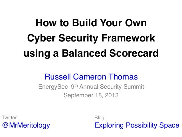 How to Build Your Own 