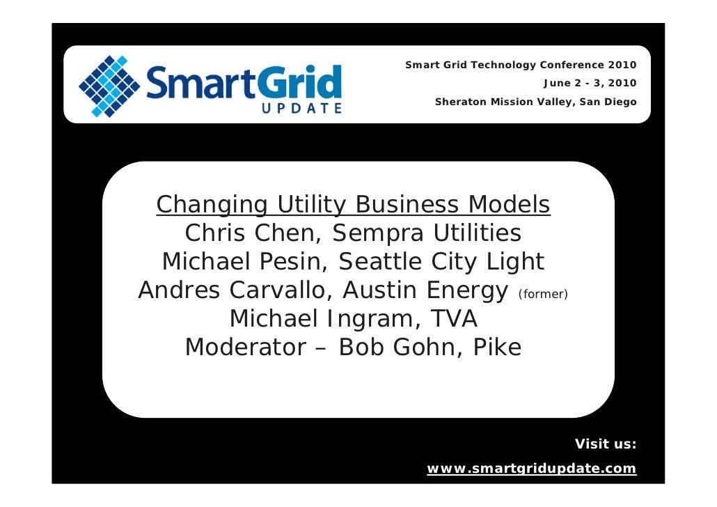 Smart Grid Technology Conference 2010                                               June 2 - 3, 2010                      ...