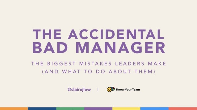 Claire Lew (CEO, Know Your Team) - The Accidental Bad Manager