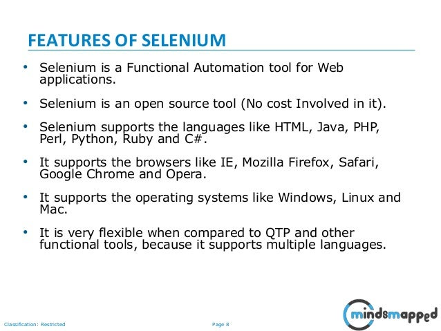 Selenium Introduction and IDE