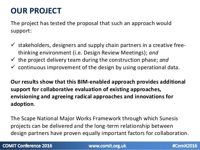 A BIM-enabled collaborative platform in practice #COMIT2016 Slide 3