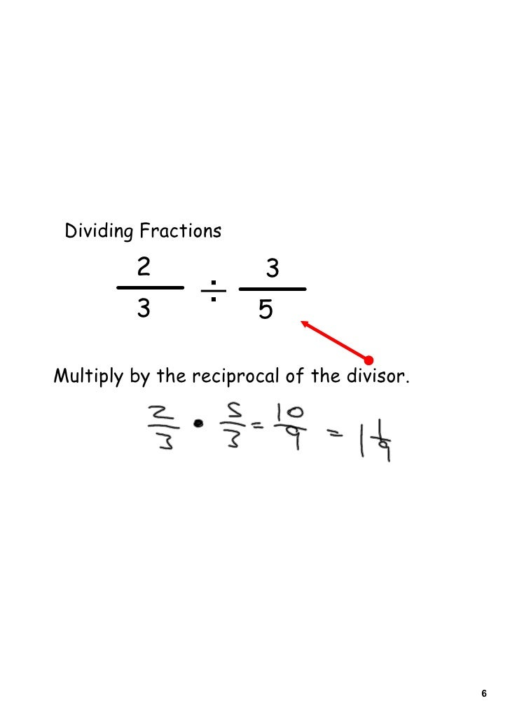 Day 2 Multiplying And Dividing