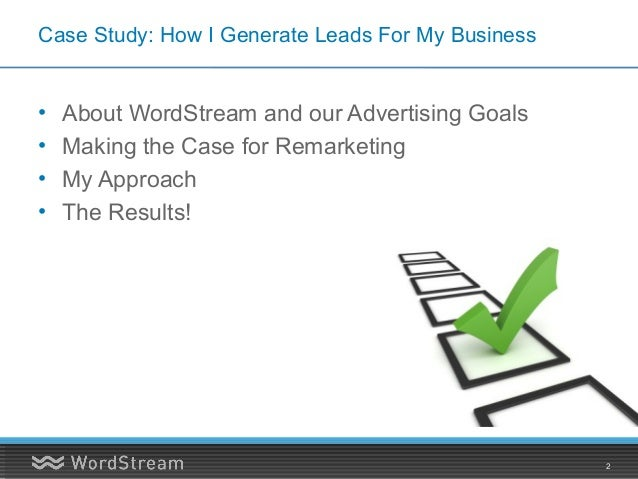 Remarketing Case Study: The Secret Rocket Fuel For your Content Marketing and SEO Efforts Slide 2