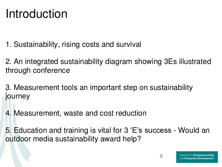 Day 2 sustainability is a_journey_not_a_destination[1] Slide 2