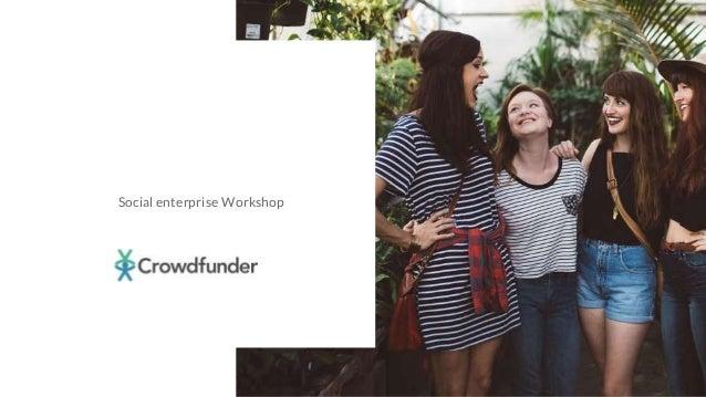 | 1 Social enterprise Workshop