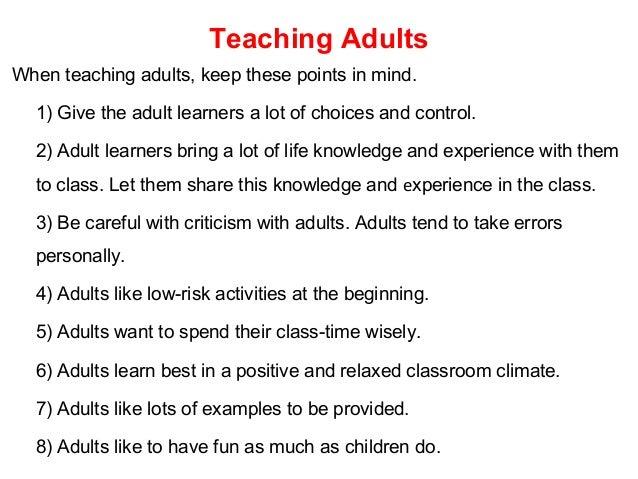 Warm-up Activities for Teaching Children in ESL Class