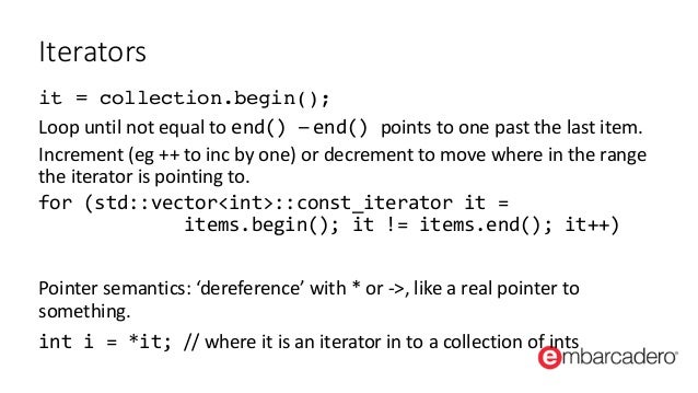 how to end a iterator loop c++