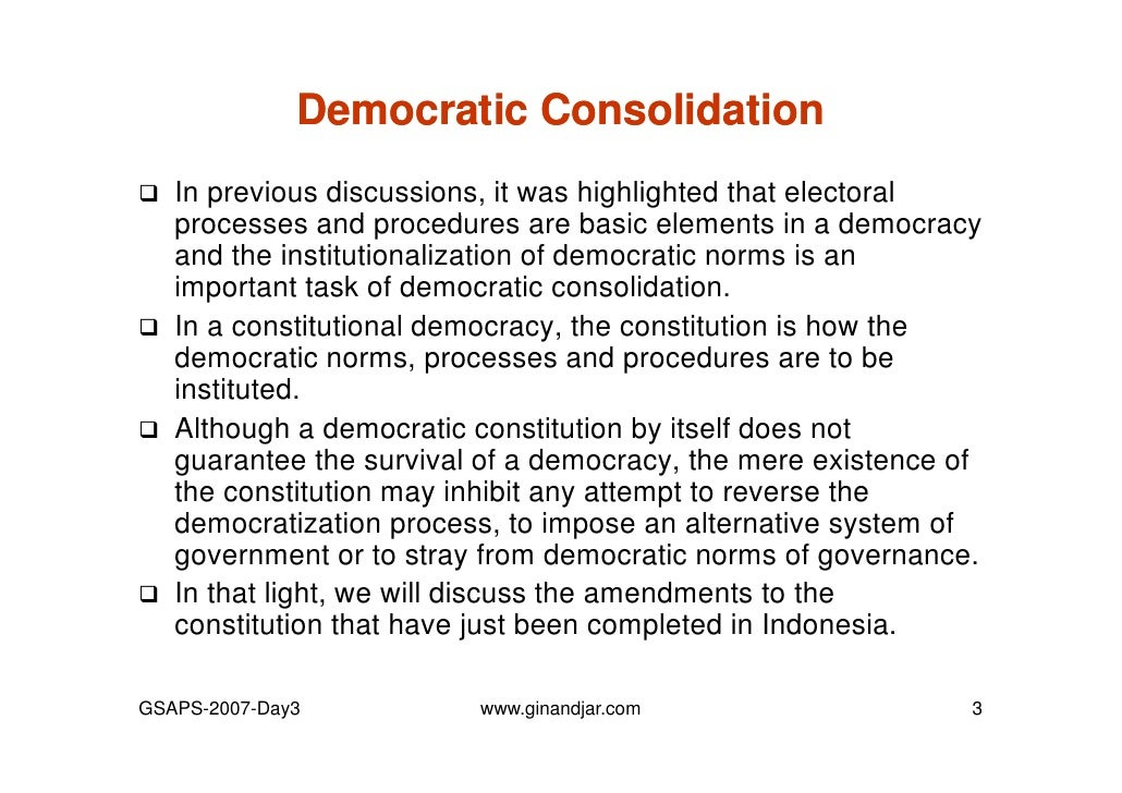 democracy individualism essay 11 iii the concepts and fundamental principles of democracy the overall concept of democracy popular sovereignty the people in a democracy democracy and equality.