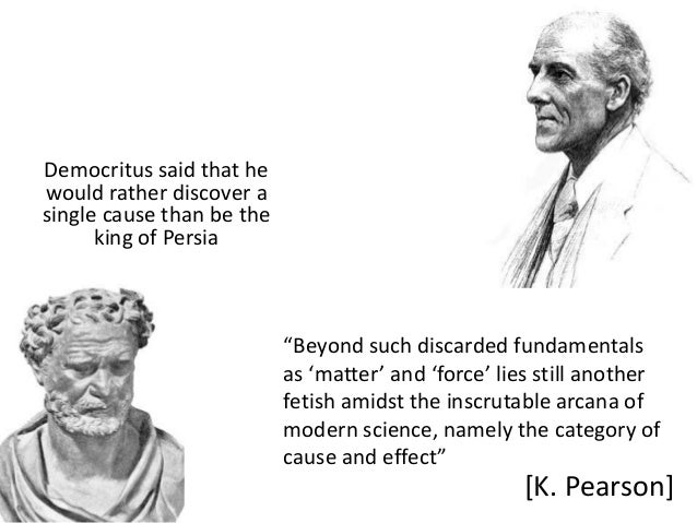 """Democritus said that hewould rather discover asingle cause than be the      king of Persia                           """"Beyo..."""