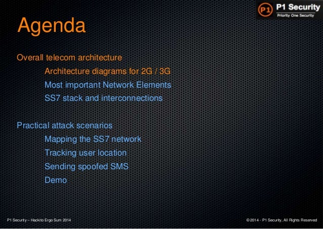 Worldwide attacks on SS7 network