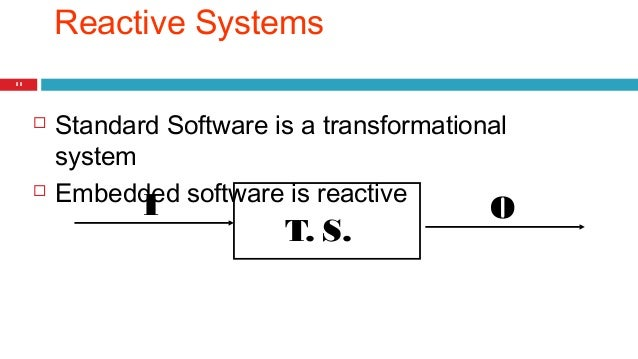 The Embedded Systems Model