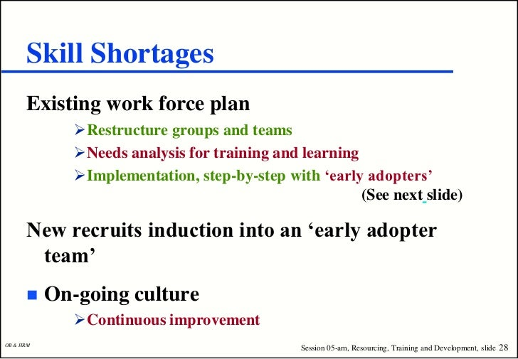an analysis of the shortcomings training new recruits in the job Now that we have discussed development of the job analysis, job description,  and job specifications, and you  once hired, new employees go through two  weeks of training  table 41 advantages and disadvantages of recruiting  methods.