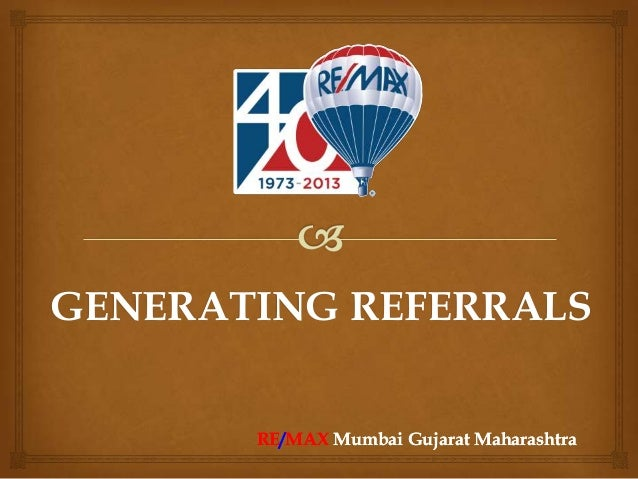 generating referrals