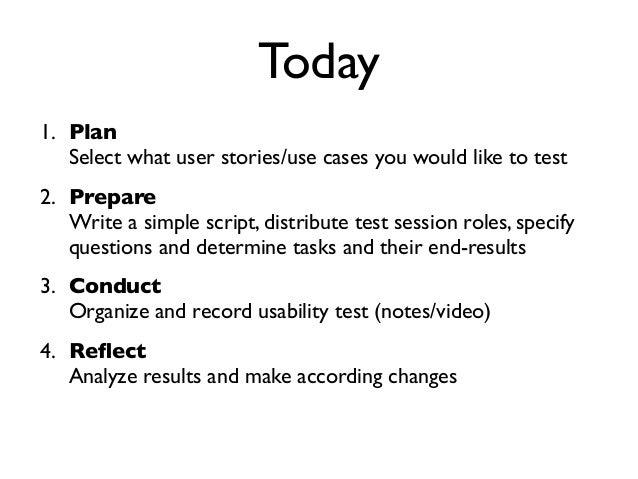 TWS 2014 – Testing paper prototypes Slide 3