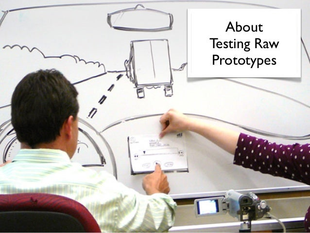 About Testing Raw Prototypes