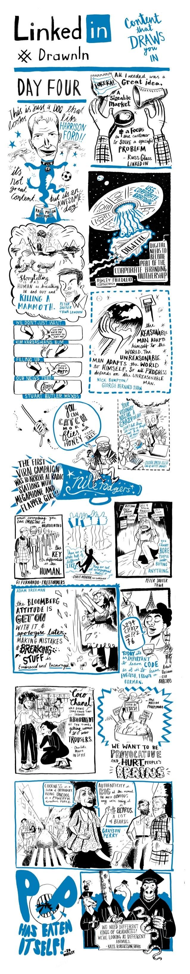 Advertising Week Europe Day 4 #drawnIn