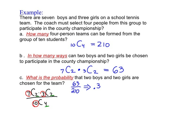 Day 144 Probability with Permutations Combinations – Combination and Permutation Worksheet