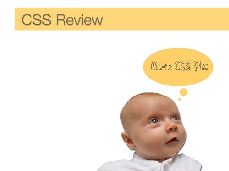 CSS Review Self Awareness  Developing