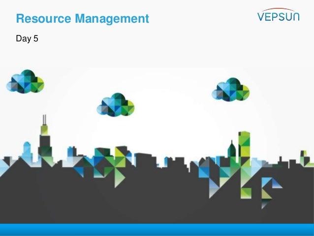 VMware vSphere 6 0 - Troubleshooting Training - Day 5