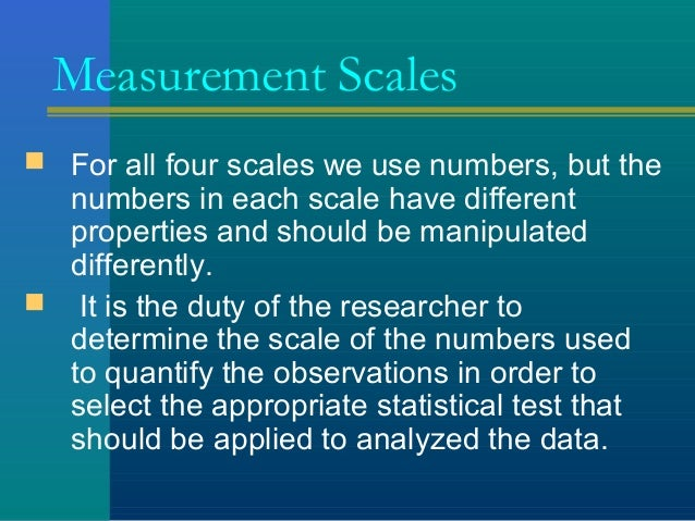 the measurement process variables scales of measurement A variable (in statistics) is a characteristic, attribute, or measurement that can have different values unlike the variables encountered in a basic algebra classes, the values of.