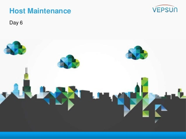 VMware vSphere 6 0 - Troubleshooting Training - Day 6