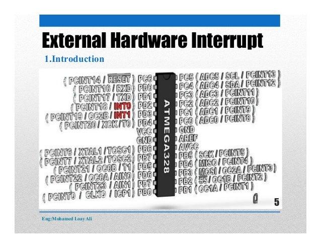 External Hardware Interrupt 1.Introduction Eng:Mohamed Loay Ali 5