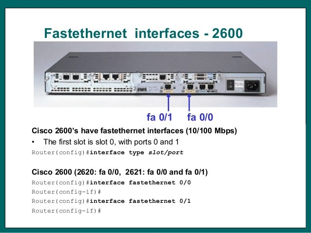day 6 router interface conf rh slideshare net cisco 2500 router manual cisco 2600 router configuration example