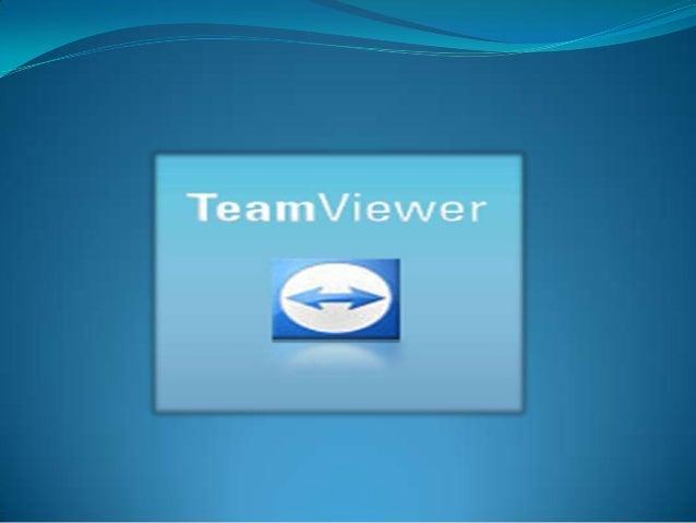 teamviewer TeamViewer es un programa para ordenador cuya función es conectarse remotamente a otro equipo. Entre sus funcio...