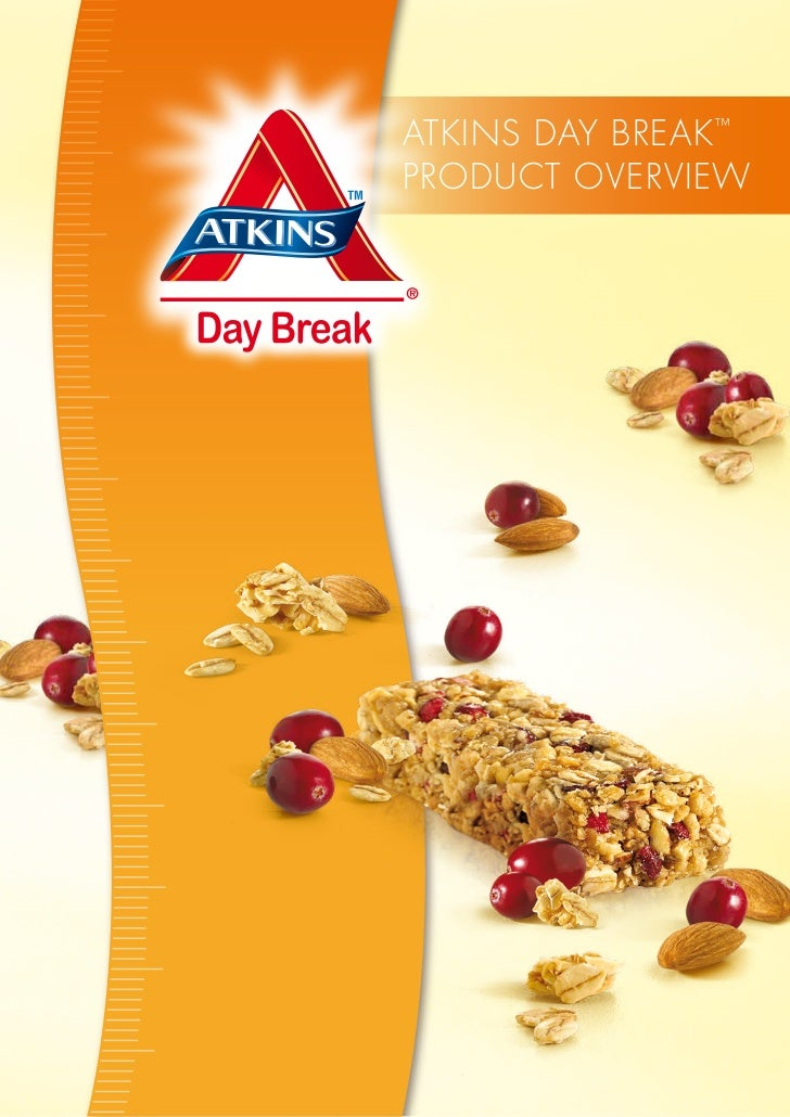Atkins DAy breAk ™PrODUCt OVerVieW