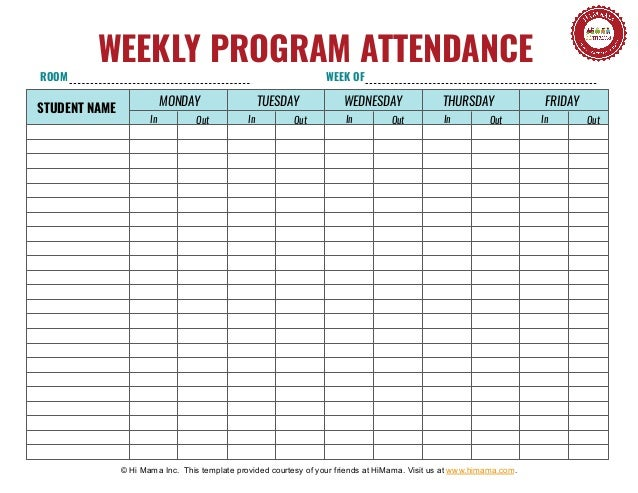 View, Download And Print Individual Student Sign In Sheets Pdf Template Or  Form Online. 8 Student Sign In Sheets Are Collected For Any Of Your Needs.