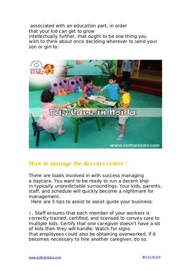 Day care in noida pdf