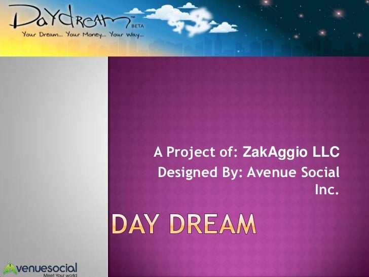 A Project of: ZakAggio LLCDesigned By: Avenue Social                       Inc.