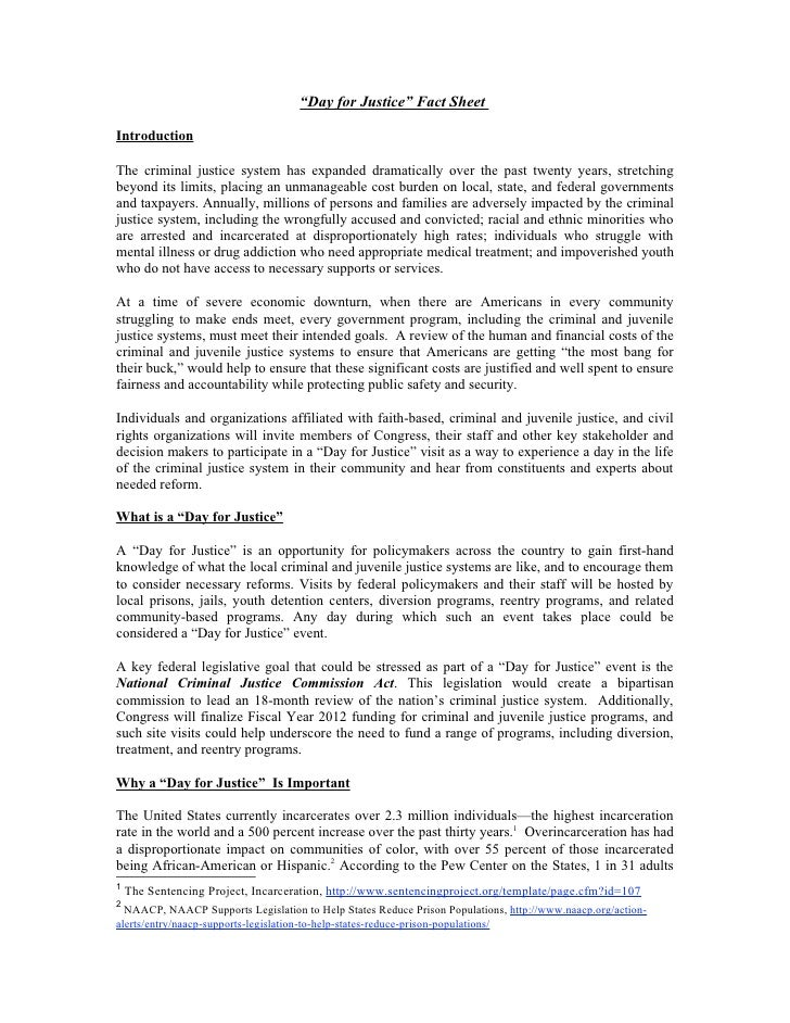Day for justice fact sheet october 2011_final