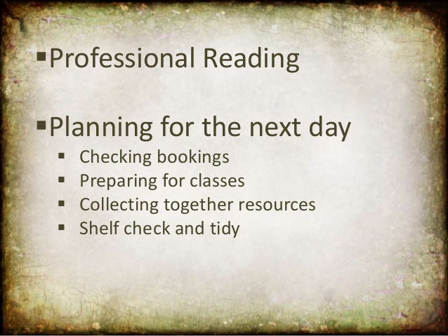 Day in the Life of a School Librarian