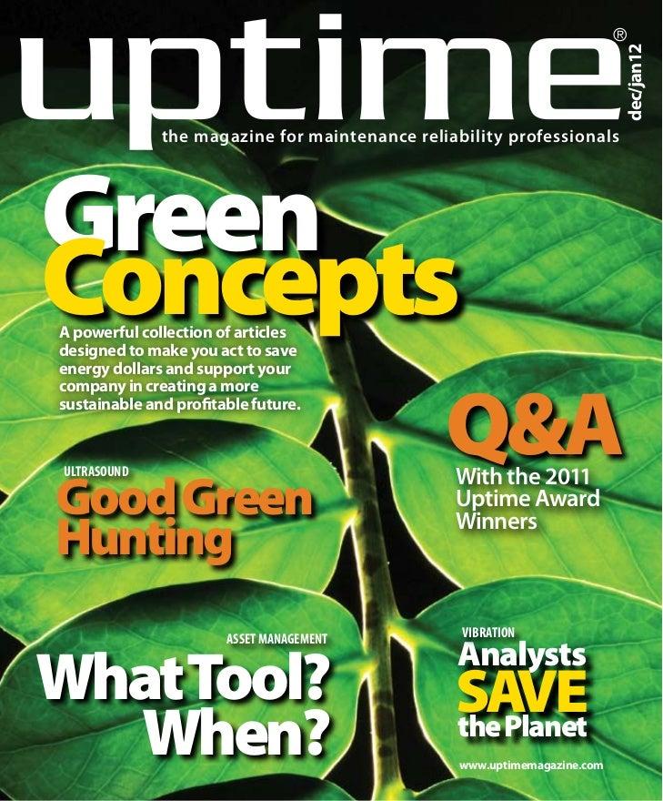 ®                                                                          dec/jan12              the magazine for mainten...
