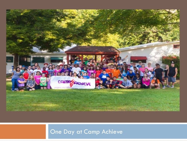 One Day at Camp Achieve