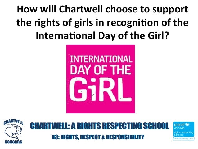 How  will  Chartwell  choose  to  support   the  rights  of  girls  in  recogni4on  of  the   ...