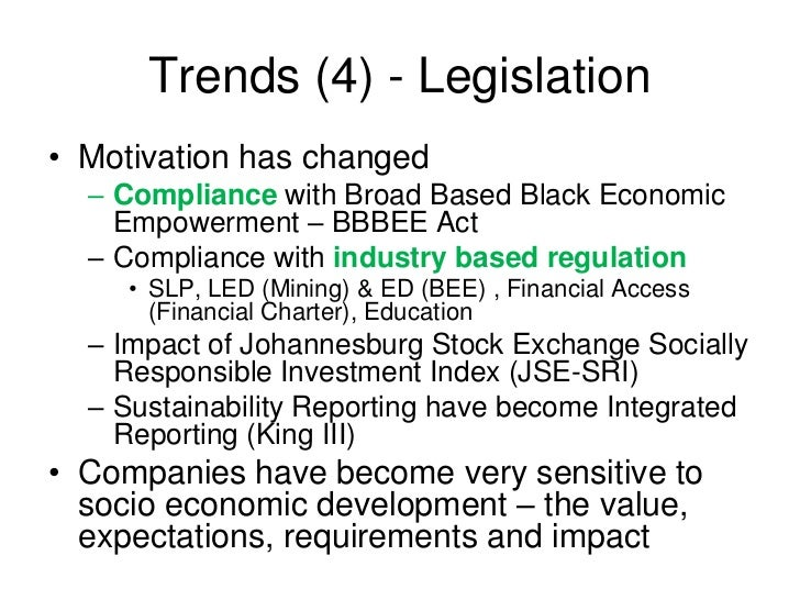 black economic empowerment and economic performance View notes - 14 from acct 320 at university of tennessee black economic empowerment and economic performance in south africa daron acemogluy stephen gelbz james a.