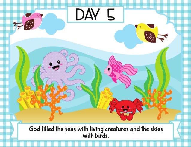 Days Of Creation Crafts Powerpoint