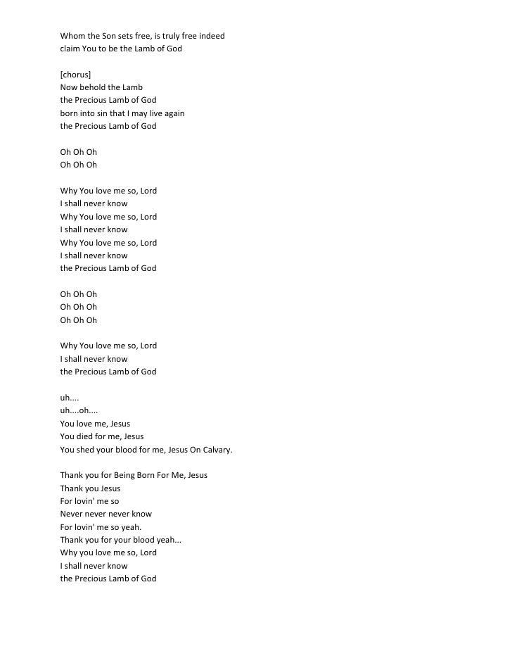Who Sang Now Behold The Lamb? Kirk Franklin - Lyrics007