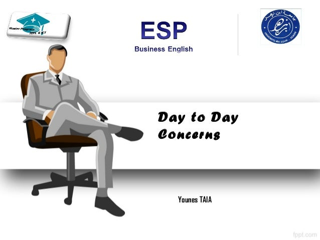Day to DayConcerns  Younes TAIA