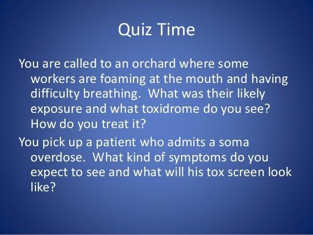 soma overdose symptoms